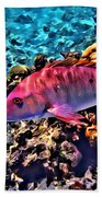Cayman Snapper Beach Towel