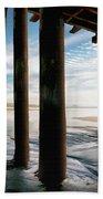 Cayucos Pier Beach Towel