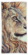 Cecil The Lion Beach Towel