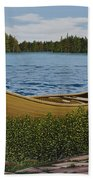 Cedar Canoe Beach Towel