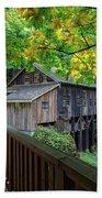 Cedar Creek Grist Mill Beach Sheet