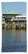 Cedar Key Waterfront Beach Towel