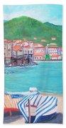 Cefalu In Sicily Beach Towel