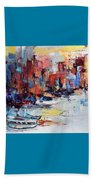 Cefalu Seaside Beach Towel by Elise Palmigiani