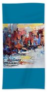 Cefalu Seaside Beach Towel