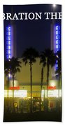 Celebration Movie Theater 1994 Beach Towel