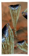 Celestial Butterflies Beach Towel
