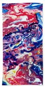 Celestial Crab Beach Towel