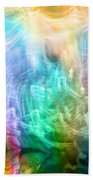 Celestial Light  Beach Towel