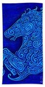 Celtic Horse Beach Towel