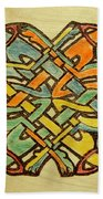 Celtic Knot 1 Beach Towel