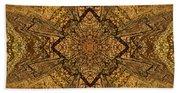 Celtic Mandala Abstract Beach Towel