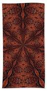 Celtic Ribbons Tile K7-2 Bronze Beach Towel