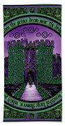 Celtic Sleeping Beauty Part IIi The Journey Beach Towel