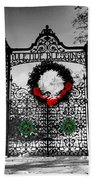 Celtic Yuletide Blessings Beach Towel