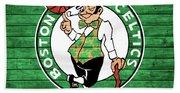 Celtics Barn Door Beach Towel