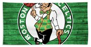 Celtics Barn Door Beach Sheet