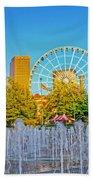 Centennial Fountains Beach Towel