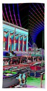 Center For Wooden Boats Beach Towel