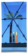 Center Of The Palm Beach Towel