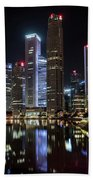Central Business District, Singapore Beach Towel