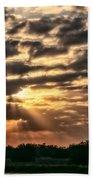Central Florida Sunrise Beach Towel