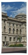 Central Library Milwaukee Full View Beach Towel