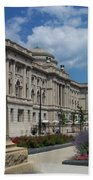 Central Library Milwaukee Street View Beach Towel