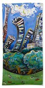 Central Park South Beach Towel