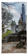 Central Park Views  Beach Towel