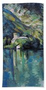 Cezanne: Annecy Lake, 1896 Beach Towel