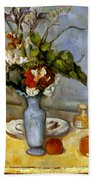 Cezanne: Blue Vase, 1885-87 Beach Towel