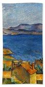 Cezanne Marseilles 1886-90 Beach Towel