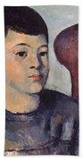 Cezanne: Portrait Of Son Beach Sheet