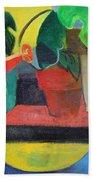 Cezanne Potting Stand Beach Towel