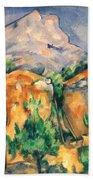 Cezanne: Sainte-victoire Beach Towel