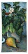 Cezanne: Still Life, C1888 Beach Sheet