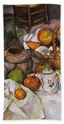 Cezanne: Table, 1888-90 Beach Towel