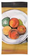 Cezannes Fruit Bowl Beach Towel