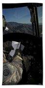 Ch-47 Chinook Pilot Refers Beach Towel