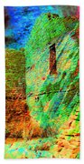 Chaco Culture Abstract Beach Towel
