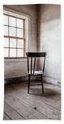 Chair By The Window Grafton Ghost Town Beach Sheet