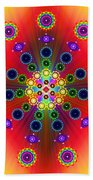 Chakras Beach Towel