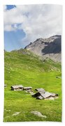 Chalets De Clapeyto # II - French Alps Beach Towel