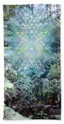 Chalice-tree Spirit In The Forest V3 Beach Towel