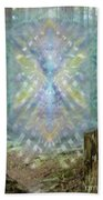 Chalice-tree Spirt In The Forest V2 Beach Towel