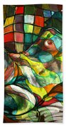 Chameleon I Beach Towel