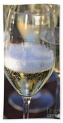 Champagne Celebration Beach Towel