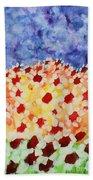 Champs De Marguerites - 01 Beach Towel