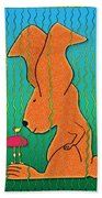Chance Encounter Beach Towel